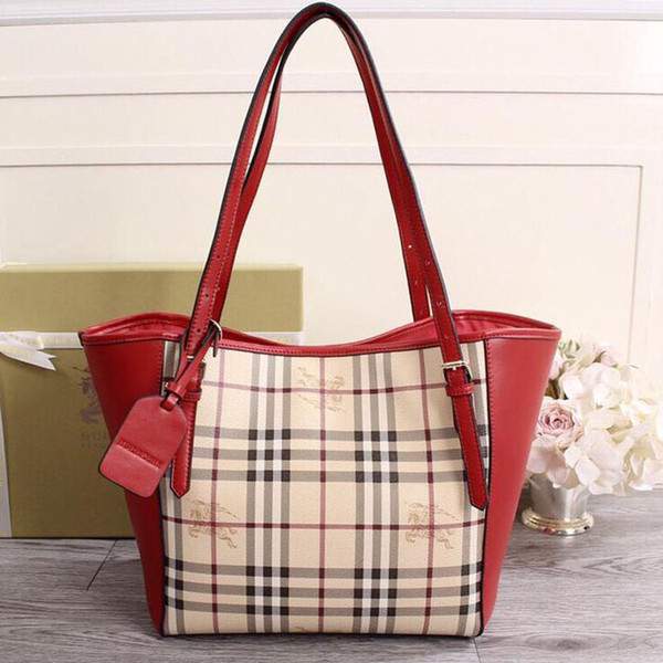 New fashion women shopping bag Brand designer luxury leather Durable Large capacity Top quality Global limited Free shipping NB:22585-ONE