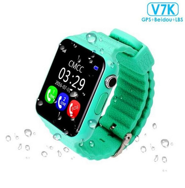 V7K Waterproof Kids GPS smart watch kids Safe Anti-Lost Monitor Watches with camera/facebook SOS Call Location Device Tracker MQ5