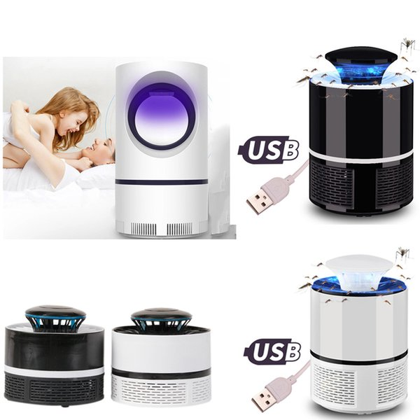 top popular USB Electronics Mosquito Killer Lamp Anti Mosquito Trap Repeller Bug Zapper LED Insect Kill Lights Electric Mosquito Killer Lamp 2019