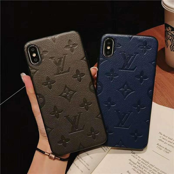 imprint pattern Phone Case For Samsung Galaxy S10 5G S8 S9 Plus S10E Note 8 9 Full Body Protection Cover for Huawei P30 Pro P20 Lite Mate 20