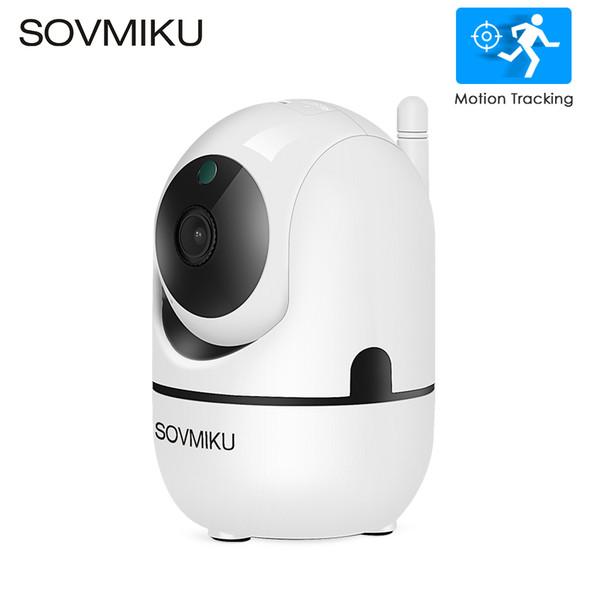 HD 1080 P Cámara IP Nube WiFi Inalámbrico Auto Inteligente Seguimiento de Seguridad en el Hogar Humano Vigilancia CCTV Cámara de Red Monitor de Bebé