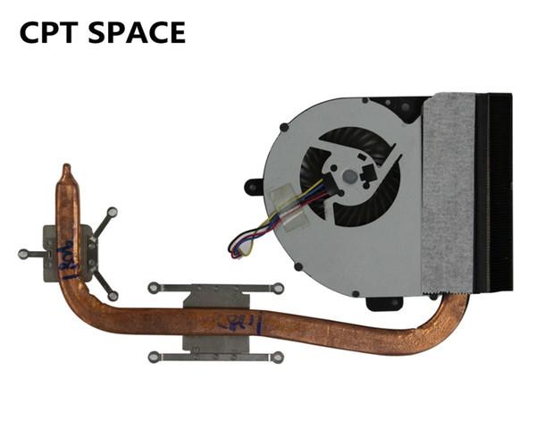 Ventilador del disipador de calor del radiador de la CPU YTAI apto para ASUS X43 K43 A43 K43E K53E A53E A43E K43SD A43S Ventilador de la placa base del ordenador portátil
