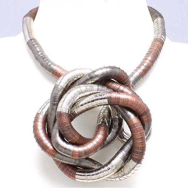Silver-Black-Copper