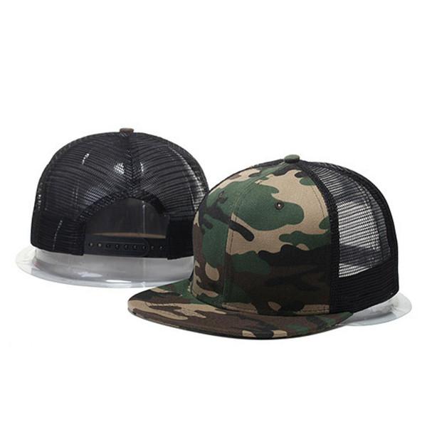 MISSKY Camo Mesh Baseball Cap Men Women Camouflage Caps Masculino Summer Hat Men Cap Trucker Snapback Hip Hop Dad Hat