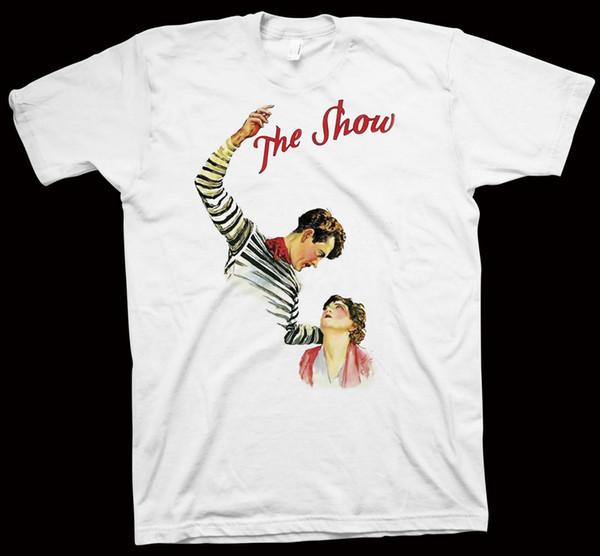 Das Show-T-Shirt Tod Browning John Gilbert, Lionel Barrymore, Hollywood-Kino-Farbtrikot mit Print-T-Shirt
