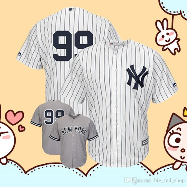 detailed look 12408 ea492 2019 Yankees Aaron Judge Majestic White Cool Base Player Replica Jersey  Embroidery Logos Baseball Jerseys From Topmensjersey2018, $23.52 |  DHgate.Com