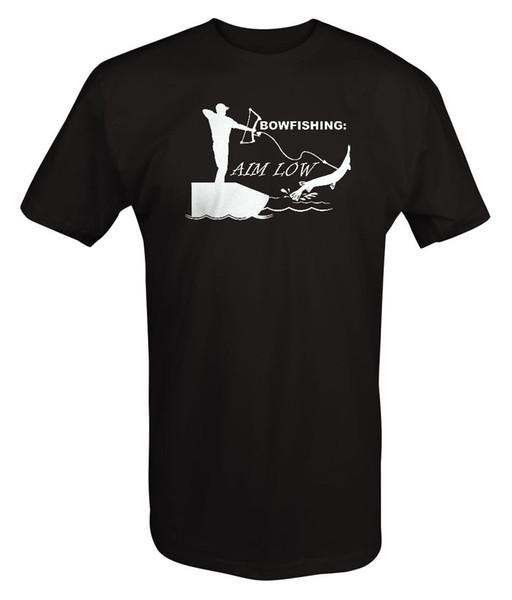 Bowfishing Objetivo Low Fishing Boating Tiro com Arco Luzes - T Shirt