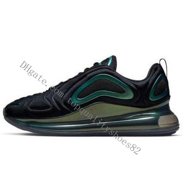 10 أسود أخضر