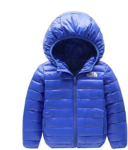 Kış çocuk Uzun Kollu Ceket Yeni Erkek Kız Hoodies Saf Renk Pamuk Yastıklı Ceket Çocuk Giyim 6 Renkler 120 cm-160 cm
