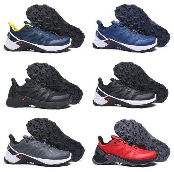 Yeni Speedcross 19 CS Erkekler Atletik Kros Yürüyüş Ayakkabı Speedcross 3 Erkek Kaymaz beyaz b Crosspeed Spor eur Koşu Ayakkabıları
