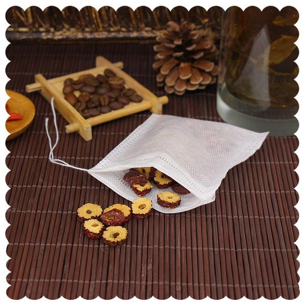 Teebeutel 9 x 10 CM Leere duftende Teebeutel mit Schnur heilen Siegel-Filterpapier für freien Tee des Kräuter-losen Tees lin4757