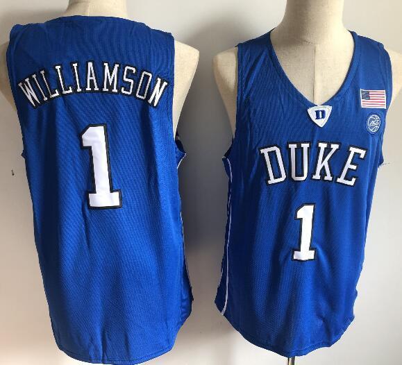 1 Zion Williamson Blue V Neck