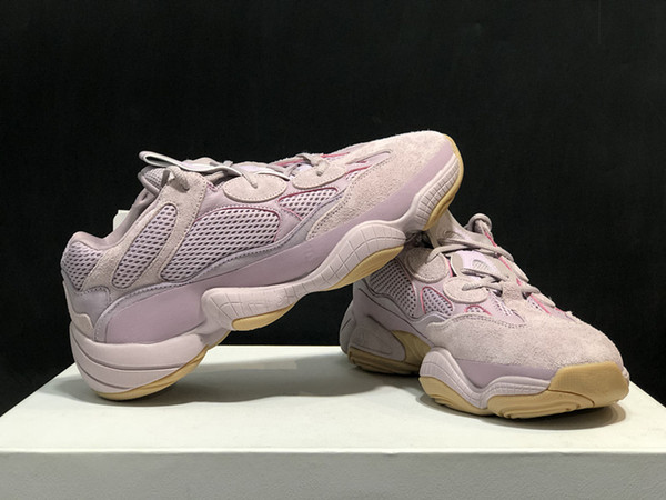 high quality 500 Soft Vision Running Shoes Kanye West 500 Wave Runner Designer Mens Women Sneaker free delivery Size 36-47
