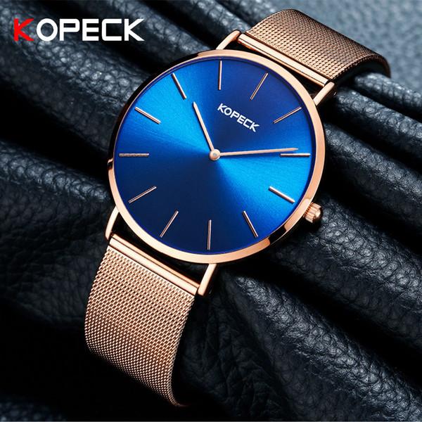 6mm Ultra-Thin Moda Feminina Relógio De Aço Inoxidável Sapphire Cristal Relógio De Vidro 30 M À Prova D 'Água Relógios Das Mulheres Como Presente