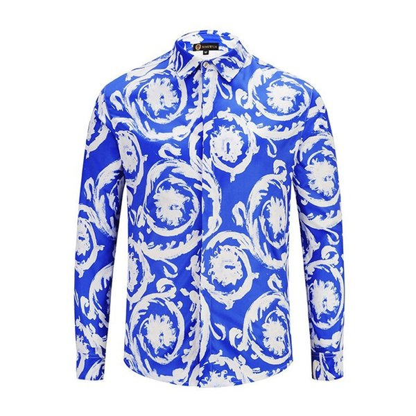 Man Shirt Autumn New Pattern Business Affairs Men's Wear Pure Color Long Sleeves Work Clothes Book Syste t-shirt