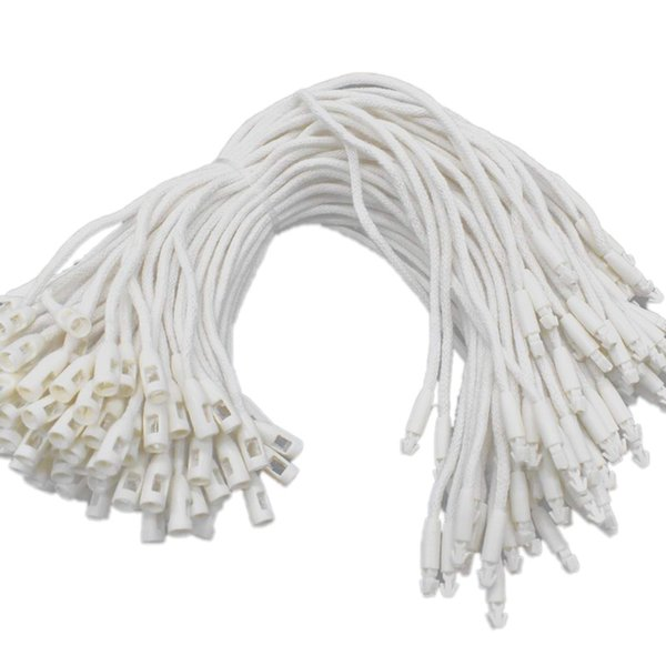 best selling Hanging Label Rope 7 Inch 1000Pcs Snap Lock Ring Buckle Fastener Hook Easy to Fast Fix