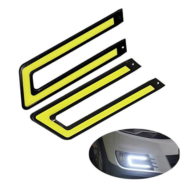 Universal Car Daytime Driving Running Light DRL Head Lamp Super White Color Waterproof External Led Car Styling DC 12V 8W 2Pcs/Set