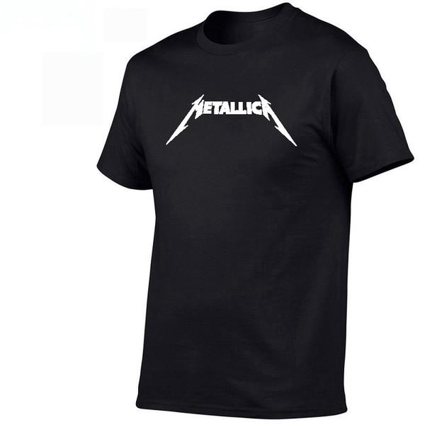 Hard Metal Rock Band Men's T-Shirt For Men Hip Hop T-shirt 3d Print Short Sleeve Top Music Art Design Male Tops Tees