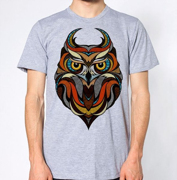 Owl New T-Shirt Short Sleeve Plus Size t-shirt