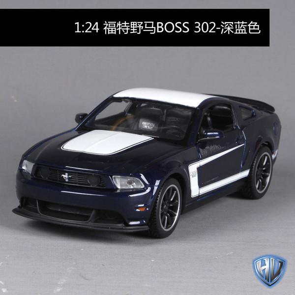 Ford Mustang Boss Dark Blue