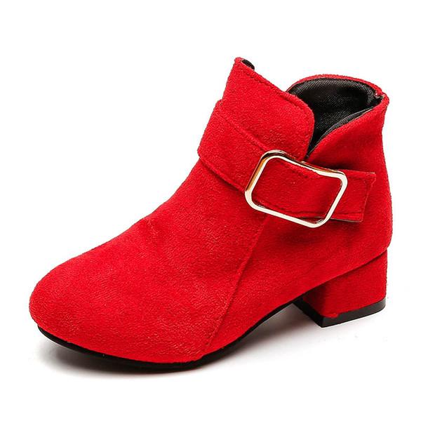 top popular 2019 new Autumn winter girls boots fashion kids Martin boots girls Martin boots kids shoes girls shoes children shoes SH60 2019