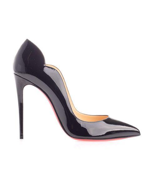 Women Pumps High Heels Peep Toe Stiletto Dress Shoes Platform Patent Leather Rose Red Silver Plus 8CM10CM12CM