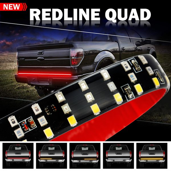 60inch 432LED Truck Portellone LED Light Strip Bar con funzione Reverse Brake Turn Signal per Jeep Pickup SUV Dodge