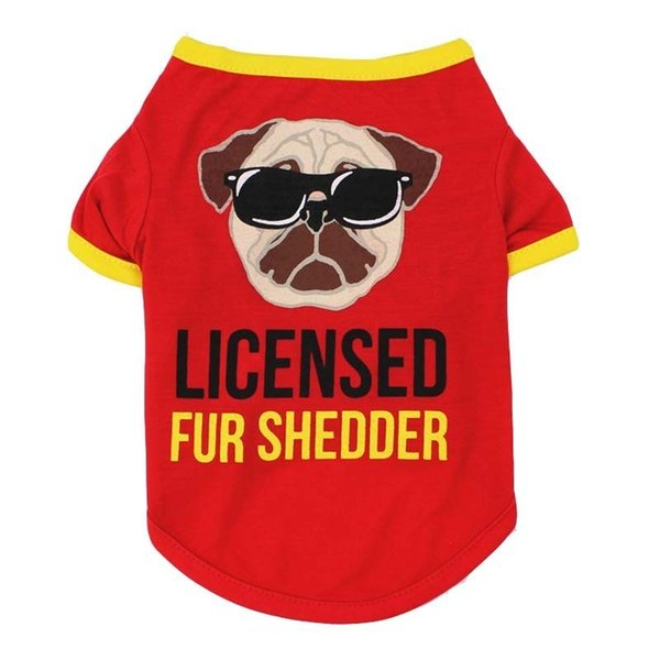 Cheap Small Dog Clothes Summer Spring 10 Cartoon Styles Pet Dog Cat Shirt Cute Yorkshire Terrier T-shirt Breathable Pet Supplies 6.5