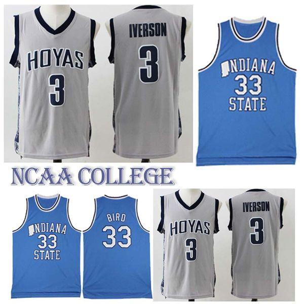 new products 39673 5b5cd 2019 NCAA 3 Allen Iverson 33 Larry Bird College Basketball Jerseys 18/2019  Hot Sale Jersey Sportswear From Best_jerseys_store, $0.72 | DHgate.Com