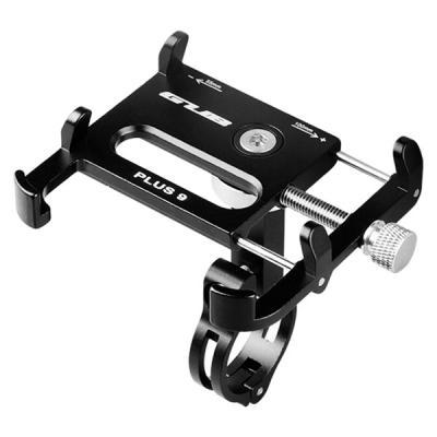 GUB PLUS 9 Alliage D'aluminium Universel 360 Degrés Rotatif Titulaire de Téléphone Portable Vélo Mount Guidon pour pour 3.5-6.2 pouces Téléphones