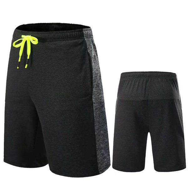 best selling Men's Bodybuilding Gym Running Workout Shorts Active Training Shorts Jogging Powerlifting with Zipper Pocket