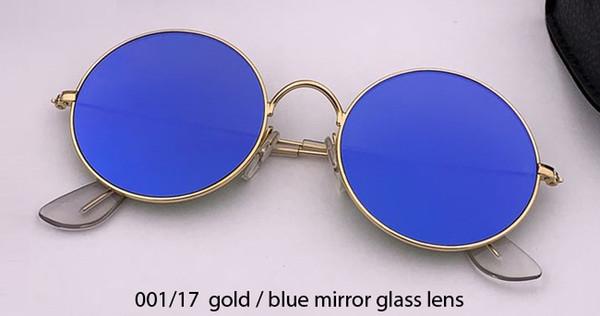 001/17 altın / mavi ayna