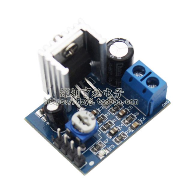 TDA2030 Güç Amplifikatörü Modülü 12 V TDA2030A Ses Amplifikatör Modülleri 18 W Mono Blok Amp ile 10 K Ayarlanabilir Direnç