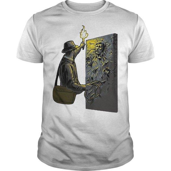 Han Solo Indiana Jones Mash Up Shirt Cool Casual Pride T Shirt Hommes Unisexe Nouveau Mode T-shirt Loose Taille Top Ajax 2019 Drôle