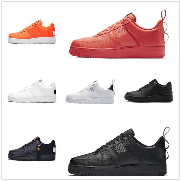 Envío gratis Zapatos casuales Venta barata en línea Classic Dunk Fashion Desinger Mujeres Hombres Zapatos Negro WhiteSize 36-45