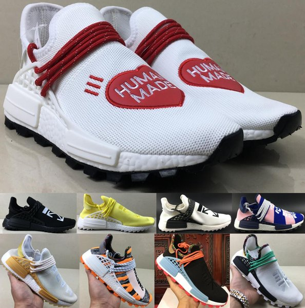 best selling New NMD Human Race Pharrell Williams BBC Infinite Species Know Soul SUN CALM Solar Pack HU Trail men women designer luxury running shoes