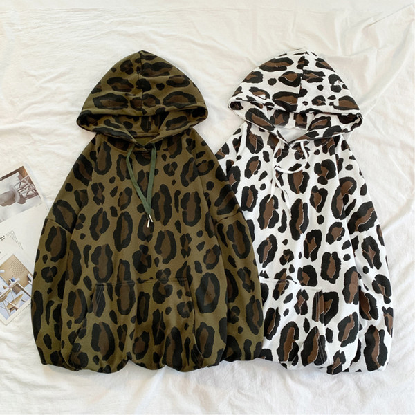 Autumn New Camo Hoodies Men Fashion Printed Casual Cotton Hooded Pullover Man Streetwear Hip Hop Loose Sweatshirt Male M-XL