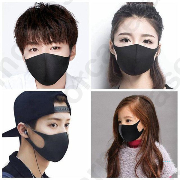best selling 3D Three-dimensional Dustproof Masks Breathable Face Mask Kids Adults Anti Dust Protective Cover Mask Washable Mouth-muffle Cover D32403