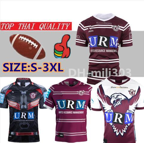 best selling 19 20 Newest Manly Sea Eagles Home Jersey thailand quality National Rugby League MANLY SEA EAGLES rugby Jerseys shirt Jersey S-3XL