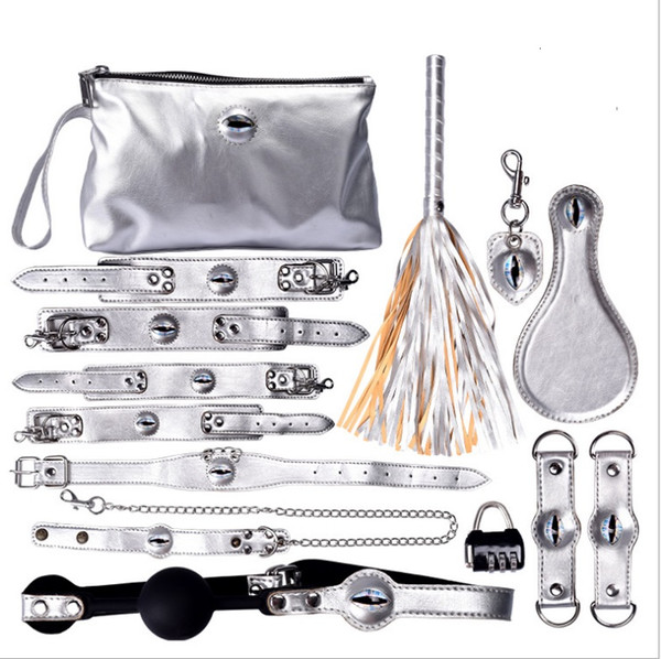 2019 Newest TopQuality Bdsm Bondage Restraint Women Collar With Handcuffs Slave Fetish Bondage Toys Sex Toys For Couples Adult Game