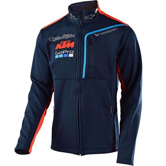Moto GP Racing Fan Clothing Motorcycle Sweatshirt For KTM Cotton Windproof Windbreaker Motocross Racing Jacket Motorcycle Riding 054