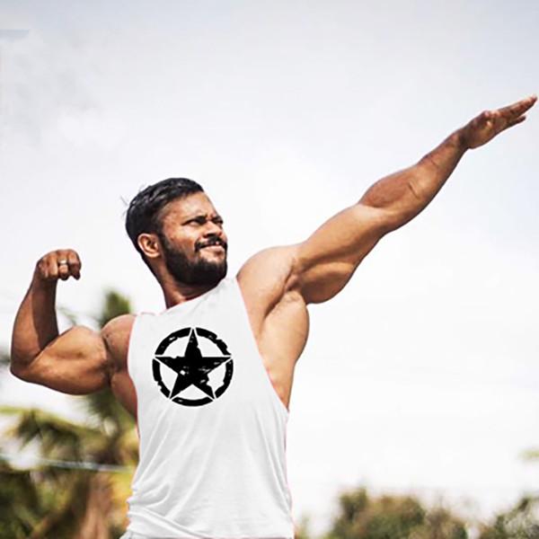 Plain Muscle Tank Top Men Gyms Clothing Stringer Bodybuilding Singlet fitness Musculation Modis Open Side Mens Workout Tanks