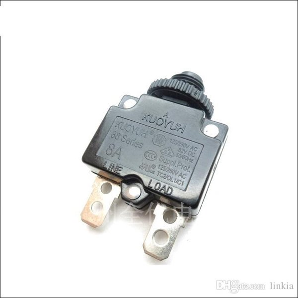 top popular Taiwan KUOYUH Overcurrent Protector Overload Switch 88 Series 8A 2021