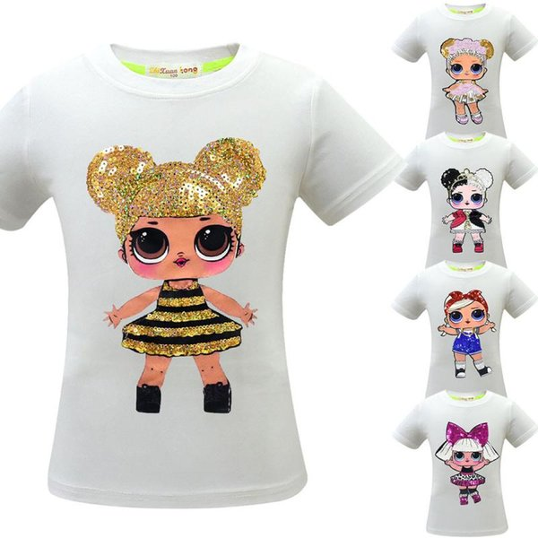 5 tyle baby girl urpri e t hirt cotton hiphop funny ummer hirt cartoon co play clothe home clothing cca11482 12pc