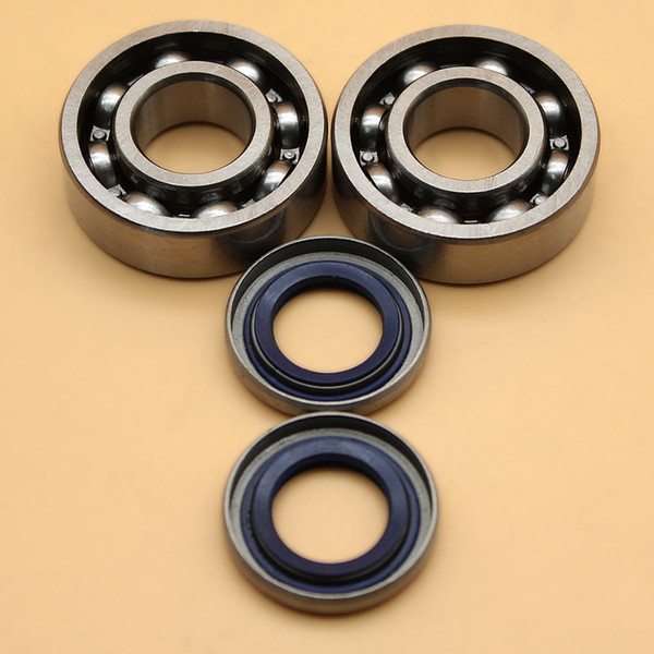 Crankshaft Ball Bearing Oil Seal Set For HUSQVARNA 254 257 262 357 359 51 55