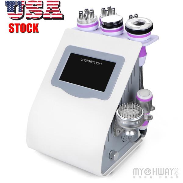 Cavitation ultrasonique de liposuccion ultrasonique de haute qualité de 8IN1 40k amincissant l'équipement de froid de machine de radiofréquence du vide RF de machine bio