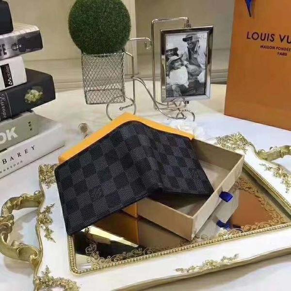 Flower Elephant L Bags Luxury Men Women Short Wallet Purse Fashion Designer PU Leather Male Ladies Short Wallets Pocket Wallet Purses