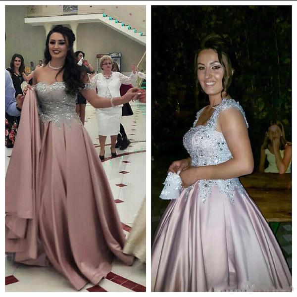 Plus Size Evening Dresses Evening Wear 2019 Long Vestidos Formales De Noche Party Prom Dress Abiti Mother Of The Bride Dresses