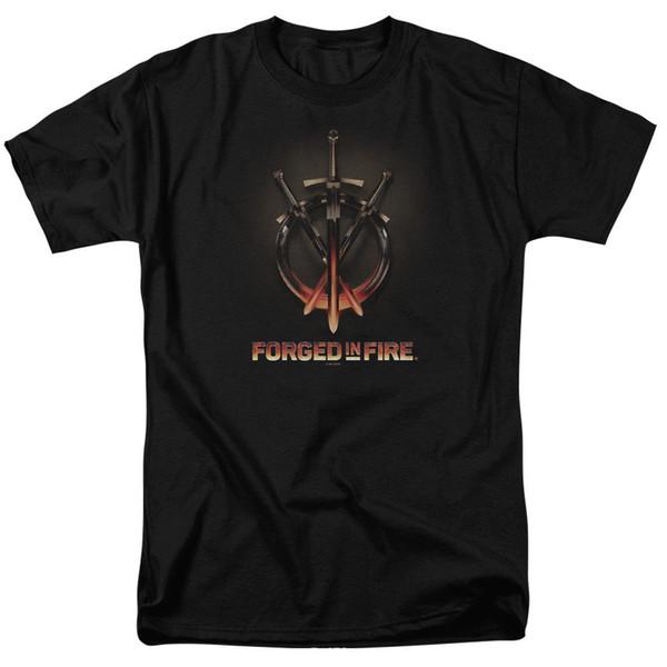 Forged In Fire Swords T-shirts pour Hommes Femmes ou Enfants Drôle livraison gratuite Unisexe Casual Tshirt