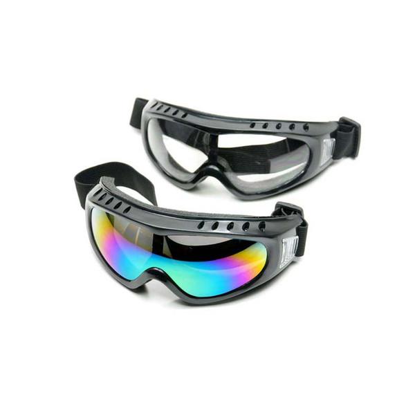Kış Rüzgar Geçirmez Kayak Gözlükleri Gözlük Açık Spor Gözlük Kayak Gözlükleri Toz Geçirmez Moto Bisiklet Güneş Gözlüğü